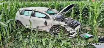 Furth im Wald: Schwerer Verkehrsunfall nahe Auhof - idowa