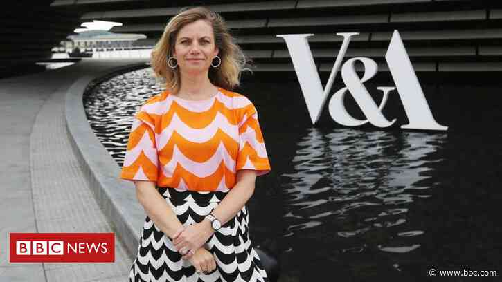 Leonie Bell announced as new director of V&A Dundee - BBC News