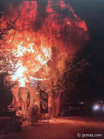 Prescott Fire Crews Battled An Early Morning Fire Friday - KAFF News
