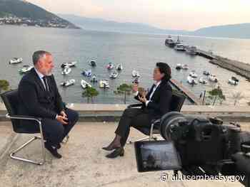 Transcript of Interview with US Ambassador Yuri Kim by Sokol Balla - US Embassy in Albania