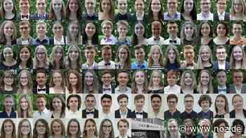 Das sind sie: Die ersten Abiturienten der IGS Melle - Neue Osnabrücker Zeitung