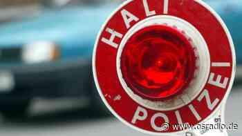 Melle: Führerschein weg, weil das Essen warm bleiben sollte - osradio 104,8