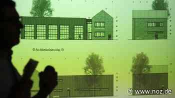 So soll das neue Feuerwehrhaus in Gesmold aussehen - Neue Osnabrücker Zeitung