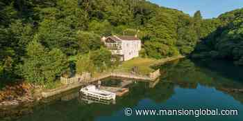 Secluded Home in Cornwall—Accessible Only by Boat or Foot—Asks £2.25 Million - Mansion Global