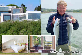 Gordon Ramsay to get new neighbours in Cornwall as offer goes in on £1.85m beach house next to his £4m m - The Sun
