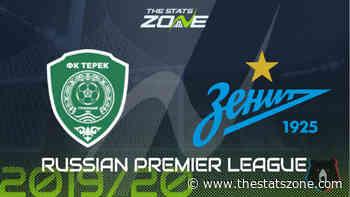 2019-20 Russian Premier League – Akhmat Grozny vs Zenit Preview & Prediction - The Stats Zone