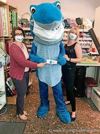 Wenn der Hai dem Virus mit der handgenähten Maske trotzt - inSüdthüringen