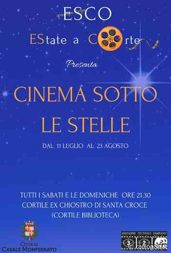 Cinema sotto le stelle a Casale Monferrato - Radiogold
