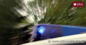 Auffahrunfälle bei Essingen - Schwäbische