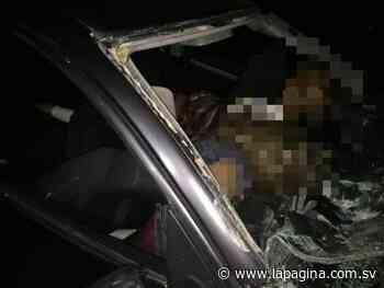 Accidente de tránsito en Apastepeque deja cuatro muertos y siete lesionados - Diario La Página - Diario La Página