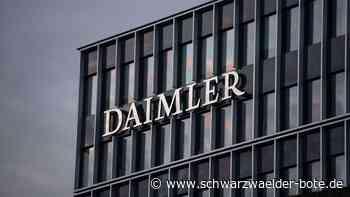 Autobauer in der Krise: Daimler will noch mehr Stellen streichen