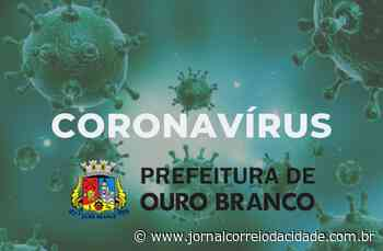 Ouro Branco tem 71 recuperados dos 83 casos confirmados de coronavírus   Correio Online - Jornal Correio da Cidade