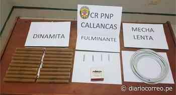 Decomisan material explosivo destinado a la minería ilegal en Callancas - Diario Correo