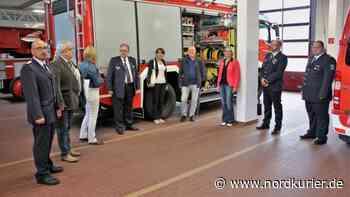 Feuerwehrunterricht soll Schule machen - Nordkurier
