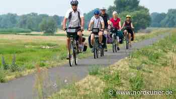 Die Touristen rollen vor allem auf Fahrrädern an - Nordkurier