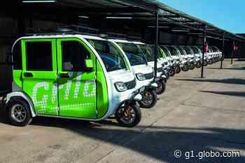 Empresa lança transporte de veículo elétrico a curta distância em Porto Alegre - G1