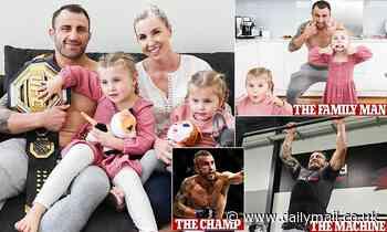 UFC champion Alex Volkanovski invites Daily Mail Australia into his home