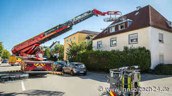 """""""Rescue Loader"""" hilft bei Patienten-Transport aus erstem Stock"""