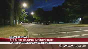 6 people hospitalized after shooting on North Clinton Ave