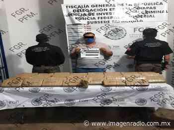 Aseguran 62 kilos de cocaína en Huixtla, Chiapas - Imagen Radio