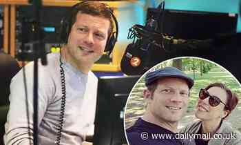 Dermot O'Leary speaks about parenthood for the FIRST TIME and admits he's 'having a great time'