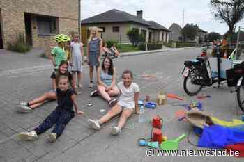 In deze stad kunnen kinderen een zomer lang spelen in eigen straat of tuin, dankzij de sport- en spelkar - Het Nieuwsblad