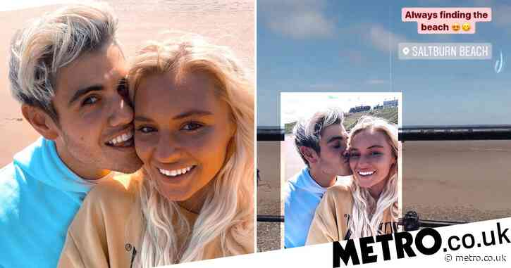 Love Island's Luke Mabbott and Lucie Donlan confirm relationship with loved-up seaside snaps