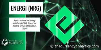 Ryan Lucchese on Tommy and Energi (NRG) One of the Fastest Growing Projects in Crypto - The Cryptocurrency Analytics