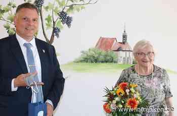 Elvira Sauer aus Volkach feierte 90. Geburtstag - inFranken.de
