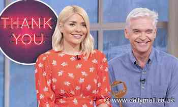 Holly Willoughby pens emotional farewell to This Morning viewers ahead of summer break