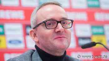 Kölns Sportchef über Trainer, Verträge und Zuschauer