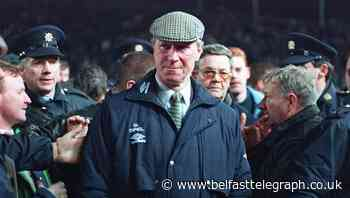 Jack Charlton, a hero to Ireland and England football fans, dies aged 85
