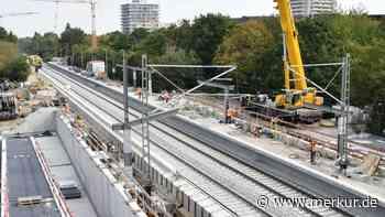 Großbaustelle S-Bahnhof in Unterschleissheim und Lohhof: Hier wird bis April 2019 gebaggert - Merkur.de