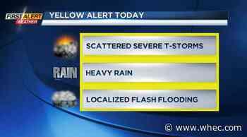 Yellow Alert: Stormy Saturday