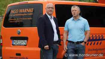 Unternehmer Warnke baut auf Kandidaten Schnur - Nordkurier