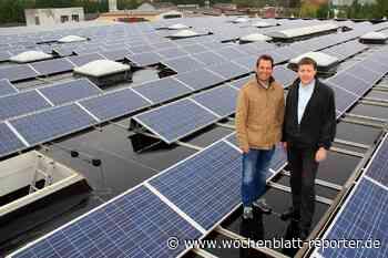 Zusätzliche Rendite fürs Unternehmen: Photovoltaikanlagen für Unternehmer und Gewerbetreibende - Wochenblatt-Reporter