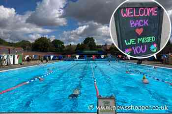 Charlton Lido one of first to reopen outdoor swimming pool