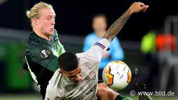 VfL Wolfsburg: In der Europa League über Kiew nach Frankfurt? - BILD