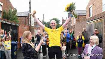 Cancer patient 'shattered' after cycling Tour de France at home while shielding
