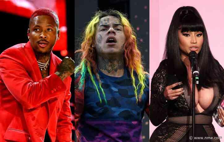 YG says he won't work with Nicki Minaj again because of 6ix9ine connection