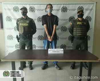 """Capturado alias """"La Chinga"""", presunto integrante del grupo delincuencial San Gabriel de Itagüí - Itagüí Hoy"""