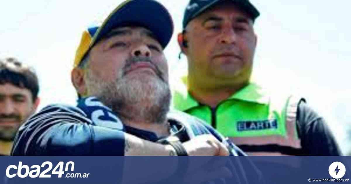 Maradona recordó su paso por Belgrano y saludó a los hinchas - Cba24n