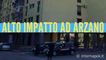 Alto impatto alla 167 di Arzano, carabinieri e vigili del fuoco sul posto - InterNapoli.it