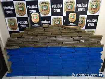 Polícia apreende R$ 10 mil e 120 kg de maconha em Indaial - ND - Notícias
