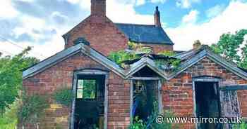 Abandoned farmhouse trapped in time with items left untouched for half a century