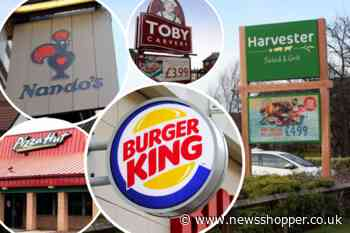 Burger King, Nando's and Harvester sign up to Eat Out scheme