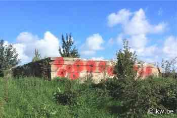 Onbekenden protesteren tegen 'weggestoken' bunker uit WOI in Blankenberge