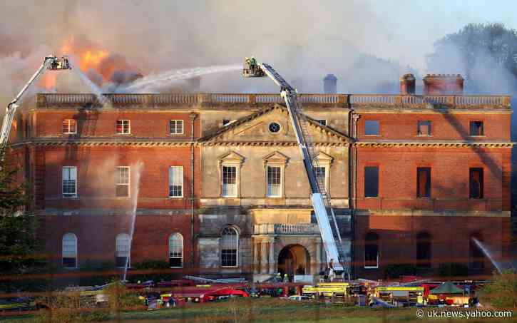 National Trust sues building firm after fire ravaged Grade I mansion featured in The Duchess