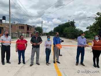 Renuevan entrada del poblado de Milpillas en Atotonilco el Alto - UDG TV