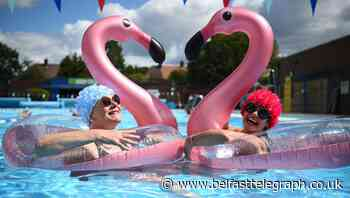 In Pictures: Lido lovers get back in the swim as outdoor pools reopen